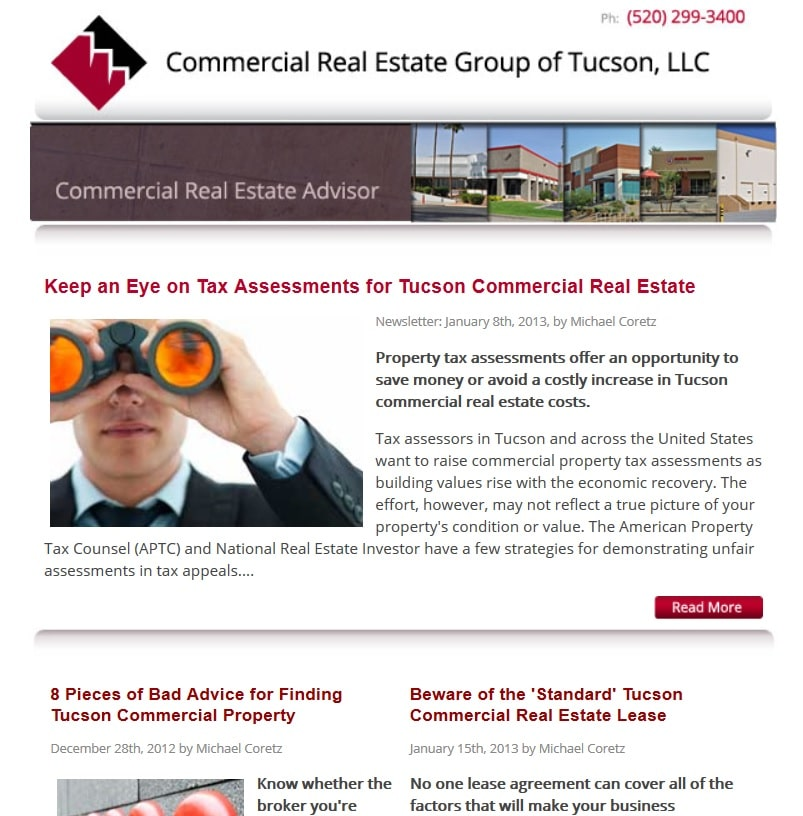 Commercial Property Assessment : February commercial real estate advisor a worldwide