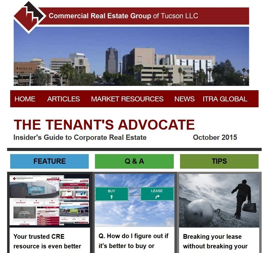 Industrial Property: The Tenant's Advocate, October 2015